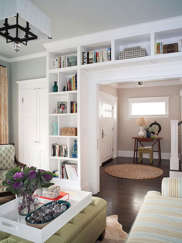 Inspired By: Built-In Bookcases