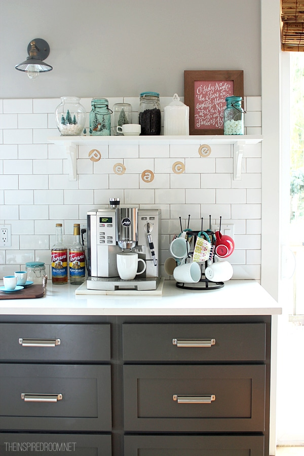 Coffee Station - The Inspired Room blog