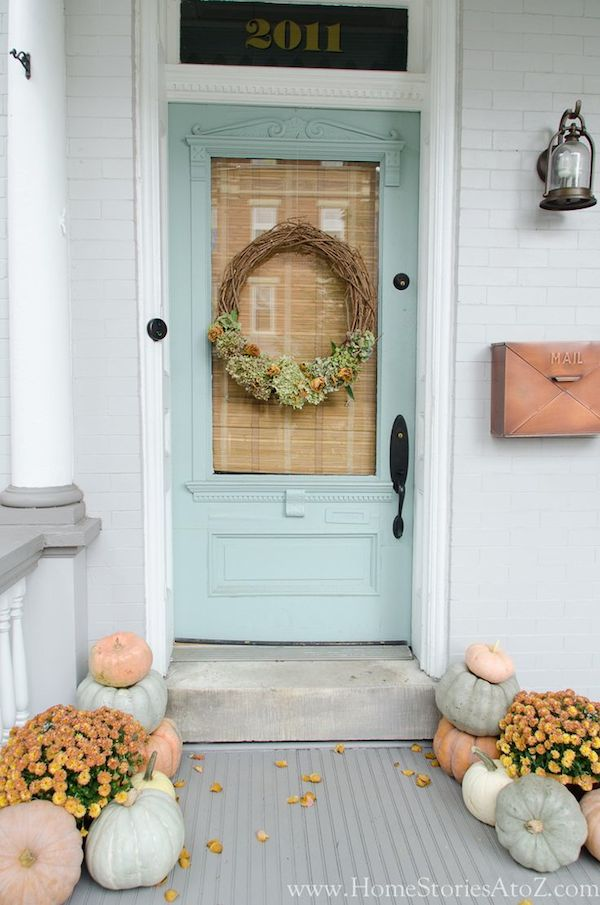 Home Stories A to Z - Fall Front Porch