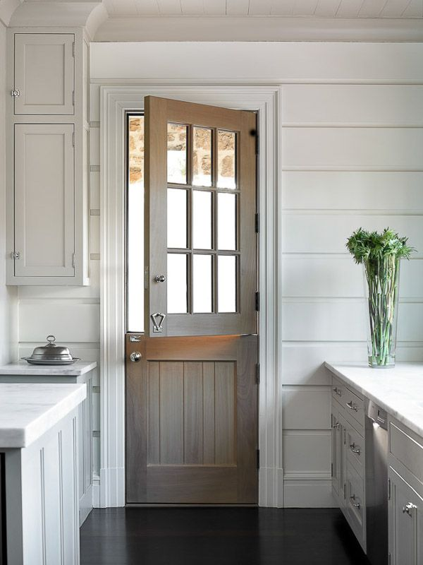 Dreaming of a dutch door my new house the inspired room for Kitchen entrance door designs