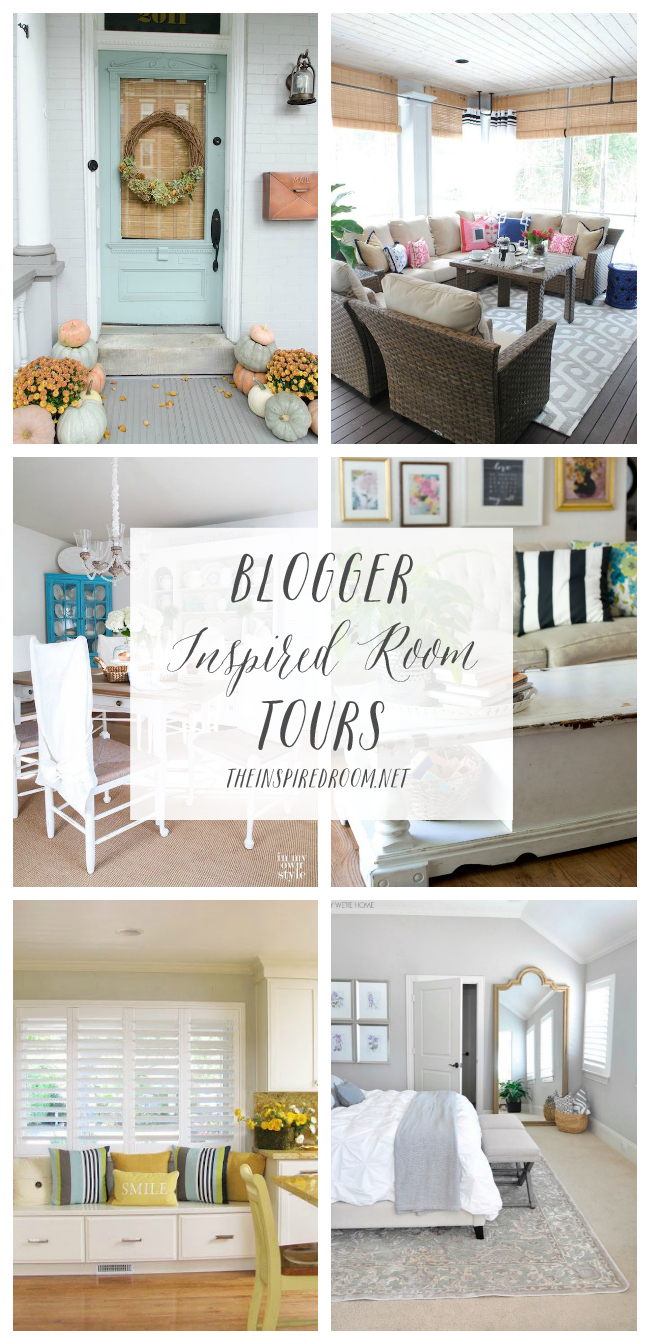 Blogger Inspired Room Tours - The Inspired Room blog