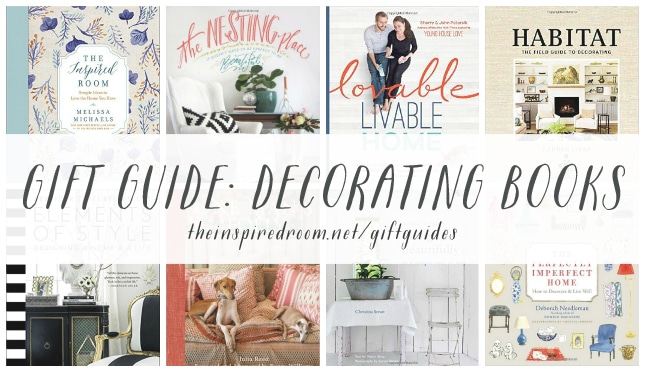 Gift Guide - Decorating Books