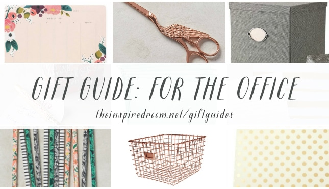 Gift Guide For the Office - The Inspired Room