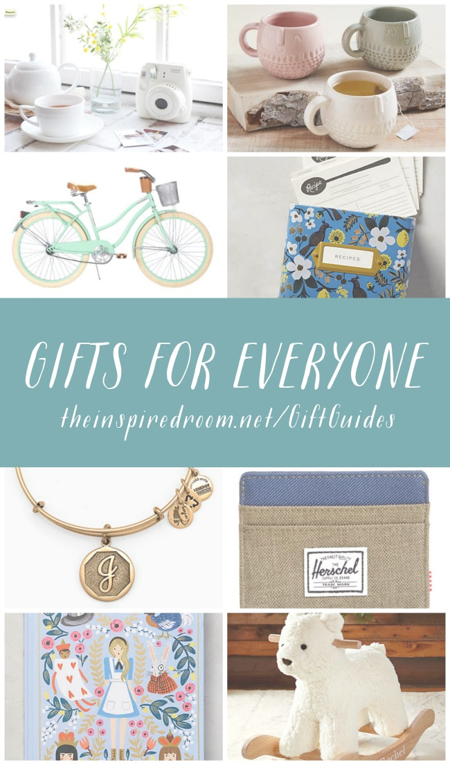 Gifts for Everyone - Gift Guides by The Inspired Room