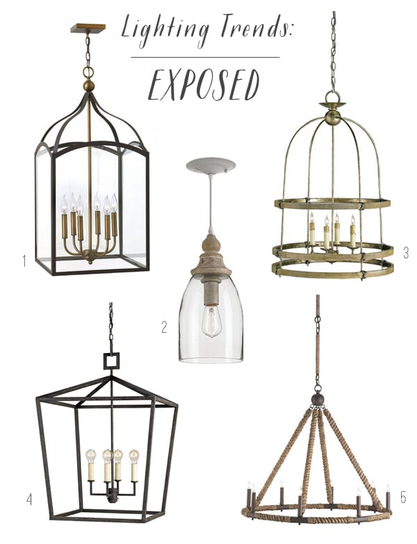 Lighting Trends - Exposed