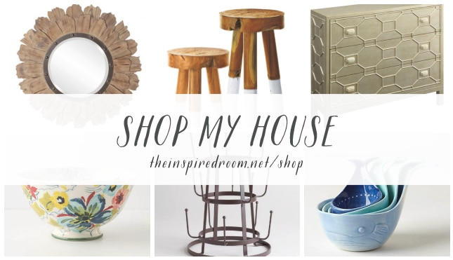 Shop My House - The Inspired Room blog - Home Decor Lighting and Furnishings