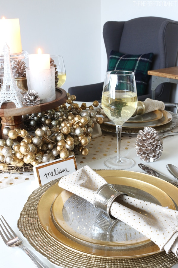 Tablescape by The Inspired Room - Cozy Glam