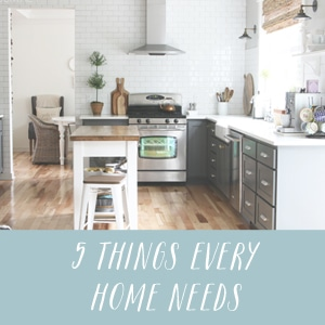 5 Things Every Home Needs - The Inspired Room blog