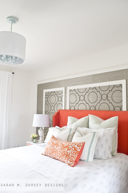 Beautiful Bedroom by Sarah M Dorsey Designs