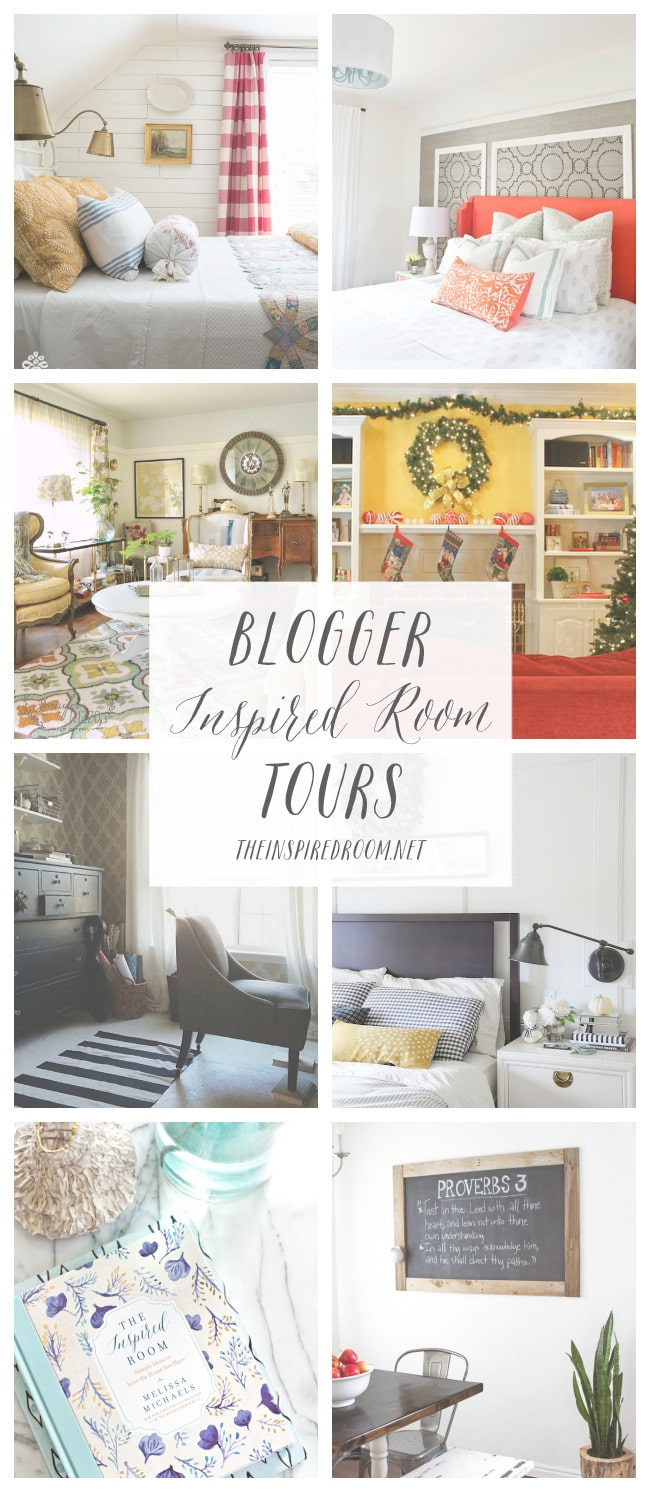 Blogger Inspired Room Tours - Part Four - The Inspired Room