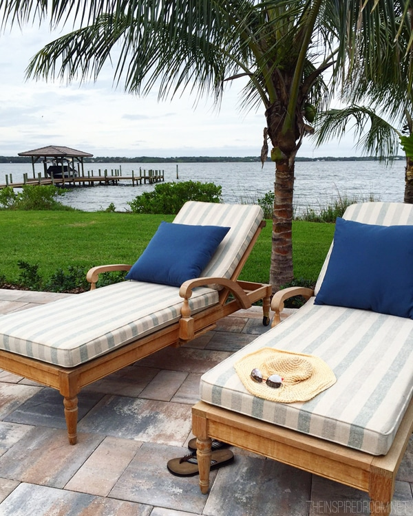 HGTV Dream Home - Chairs by the Pool