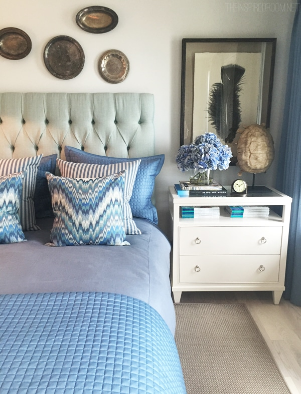 Lovely Bedroom by Brian Patrick Flynn - HGTV Dream Home Tour on The Inspired Room blog