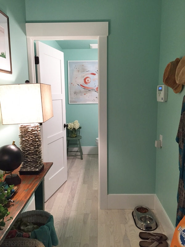 Mudroom Hallway - HGTV Dream Home