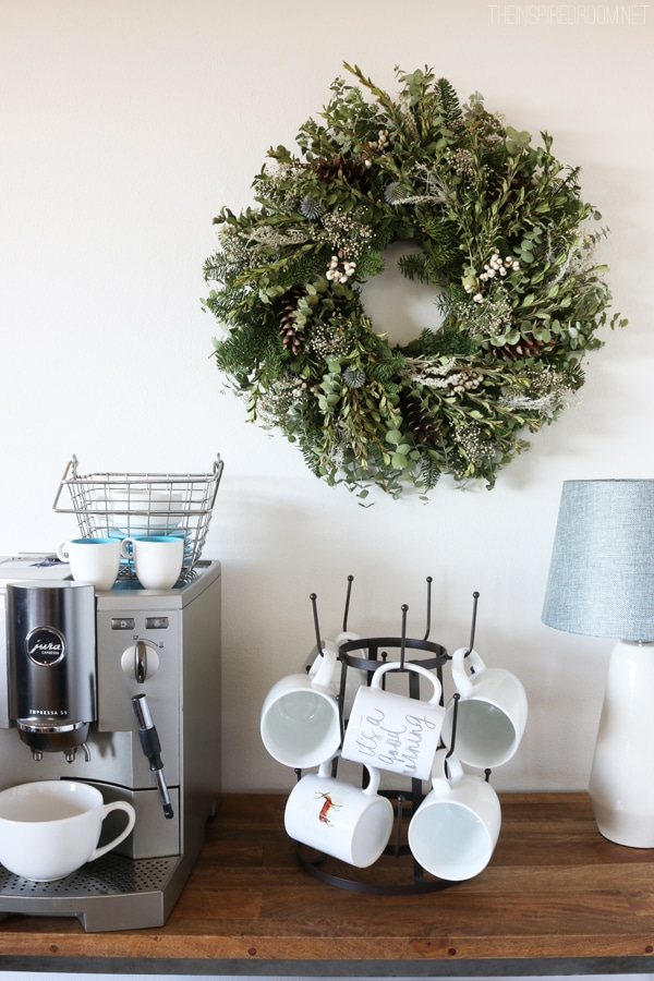 Christmas Decorating {Wreaths & Trees}