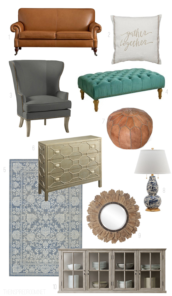 Living Room Progress Details {and $100 Giveaway} *NOW CLOSED*