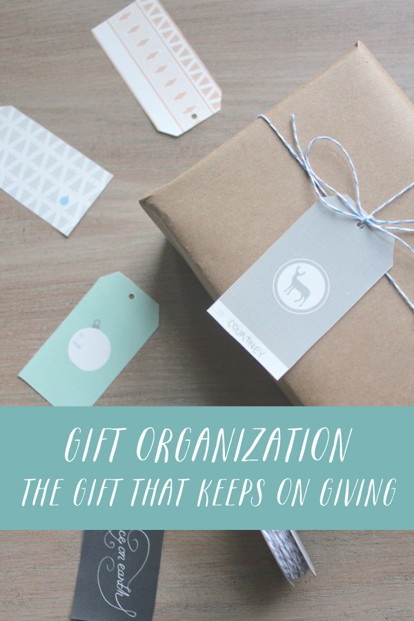 Gift Organization: The Gift That Keeps on Giving