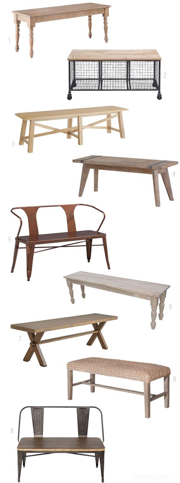 Gather: Bench Seating