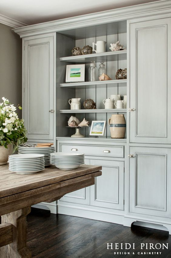 Lovely Vision For Dining Room Built Ins {Connection, Charm U0026 Function}