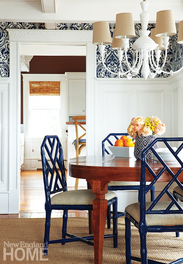 Edgartown House on Marthas Vineyard - Dining Room - New England Home