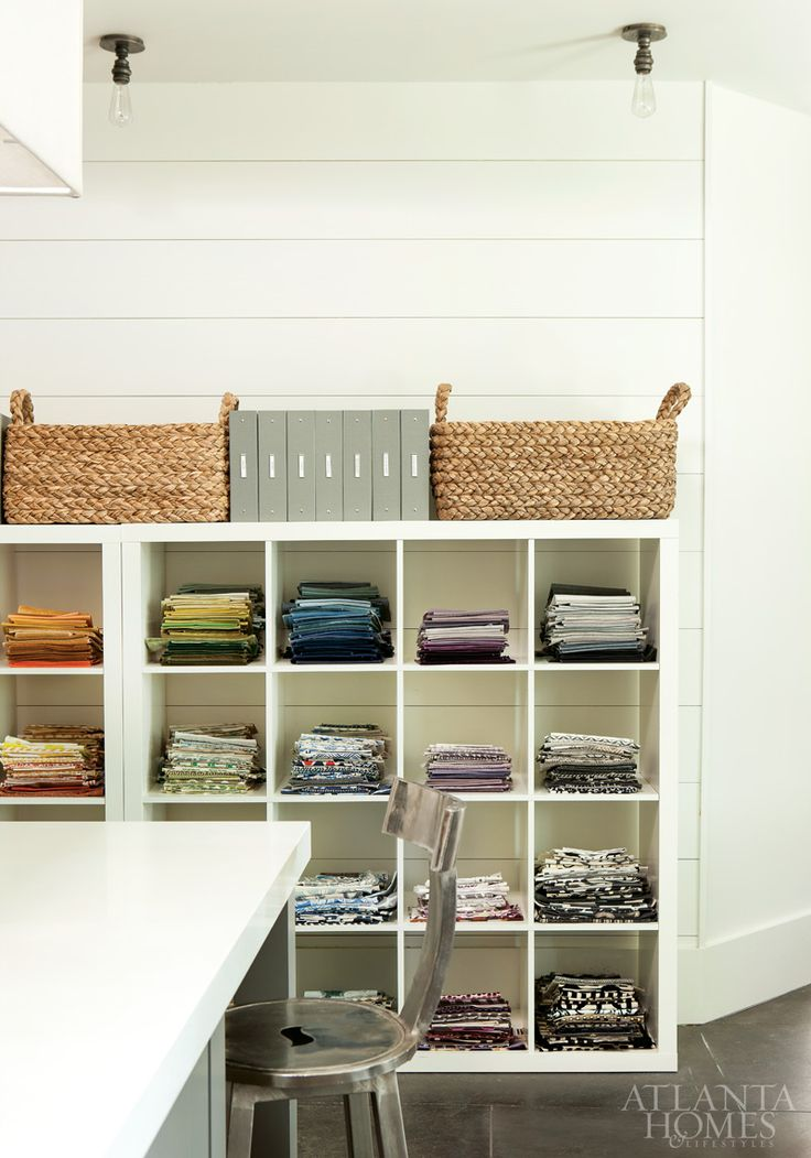 Modular Storage for Fabric - Functional Craft Space