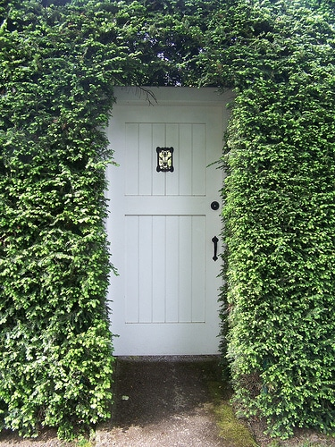 Secret Garden Door - The Inspired Room