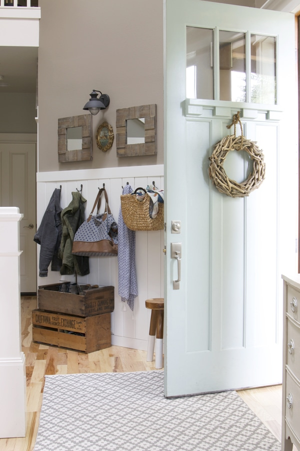 How to Create A Warm & Welcoming Entry