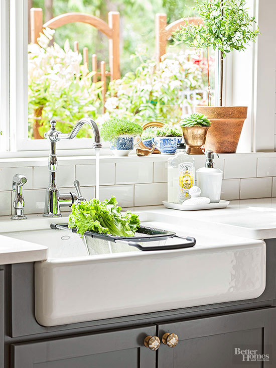 The Inspired Room Kitchen Farmhouse Sink - Better Homes and Gardens
