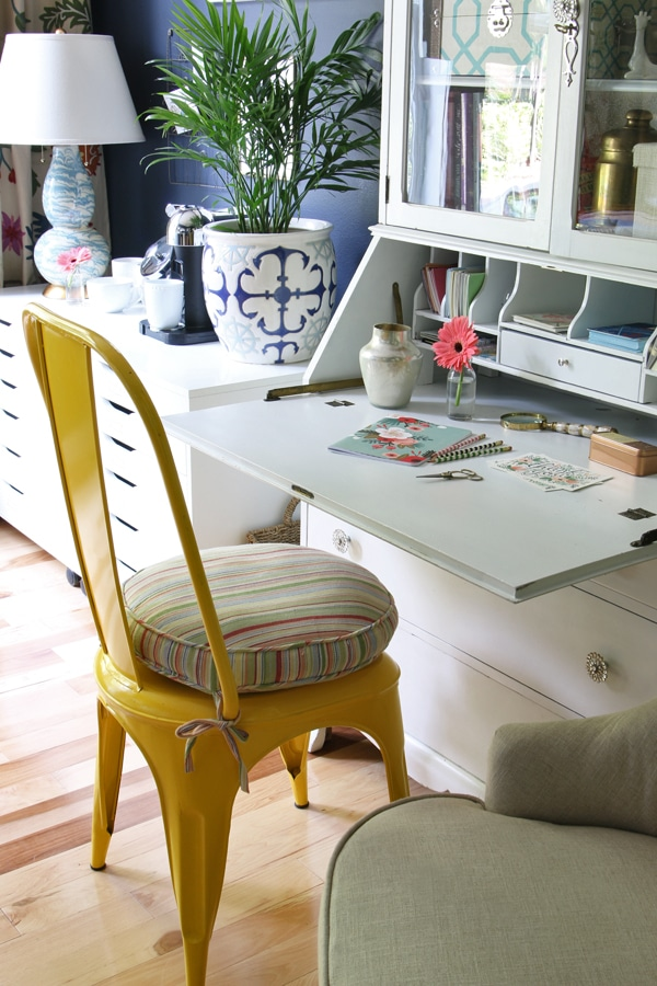 The Inspired Room Office - Secretary Desk - Hale Navy Home Office