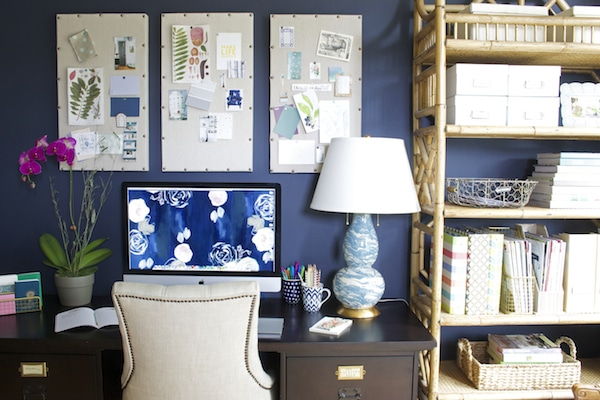 4 Takeaway Tips for a Home Office {My Home Office}
