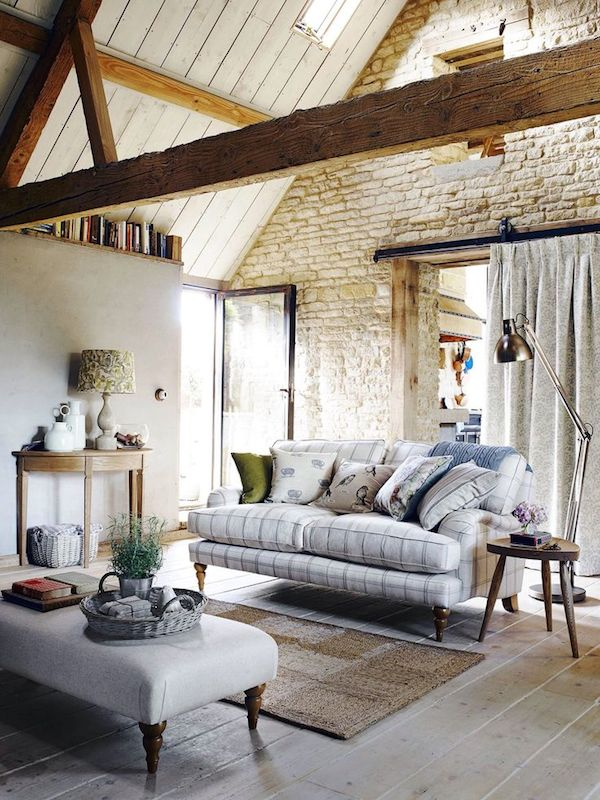 Vaulted Ceiling - Exposed Beams - John Lewis