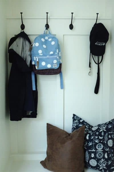 Mudroom Makeover - Cassie from The Inspired Room