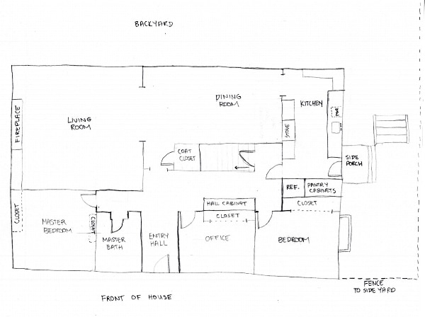 I think we have the winner! {our remodel floor plan}