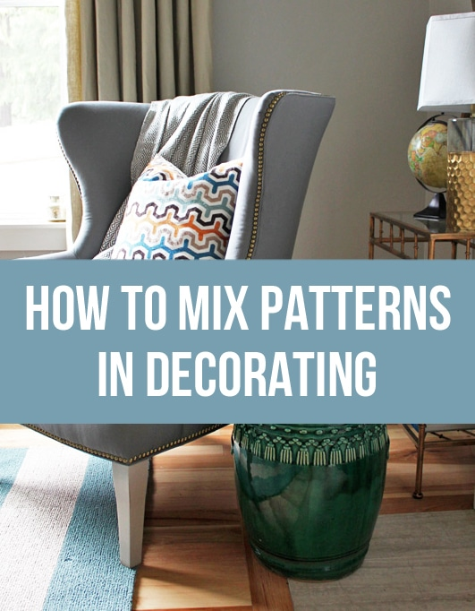 How to Mix Patterns in Decorating