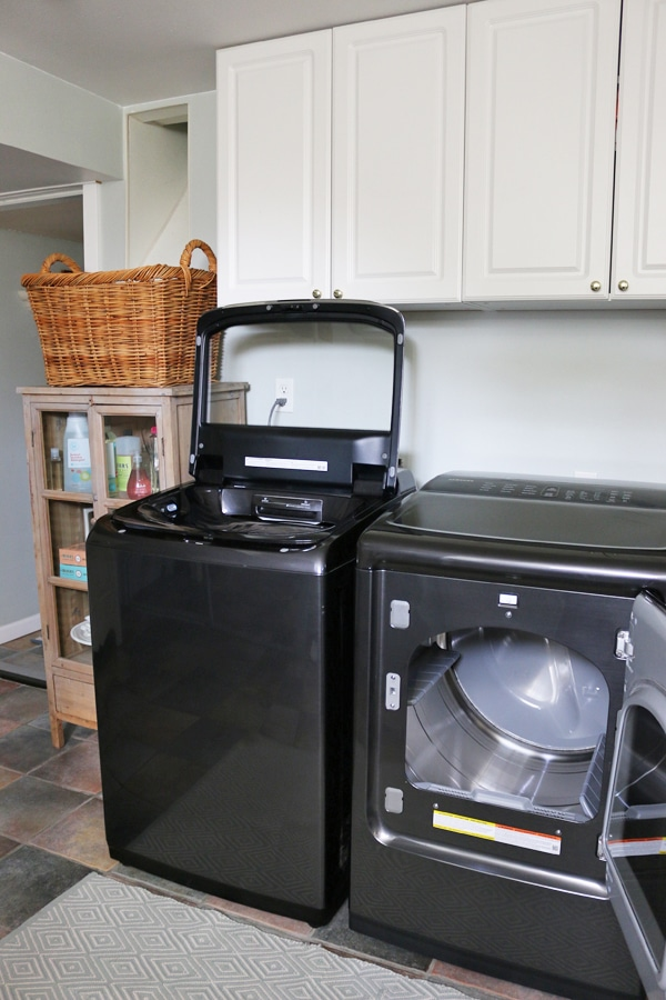 Our New Washer & Dryer & Laundry Room Goals