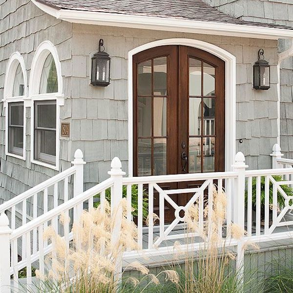 Side Porch Railings - X Design - Better Homes and Gardens