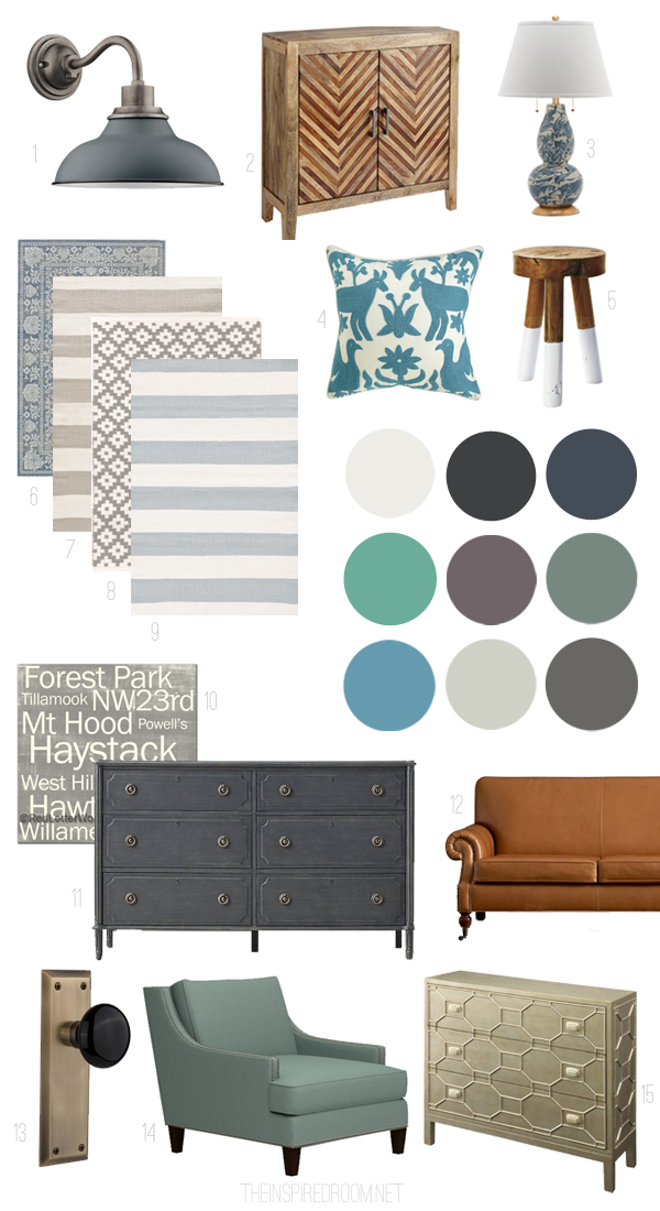 The Inspired Room Mood Board