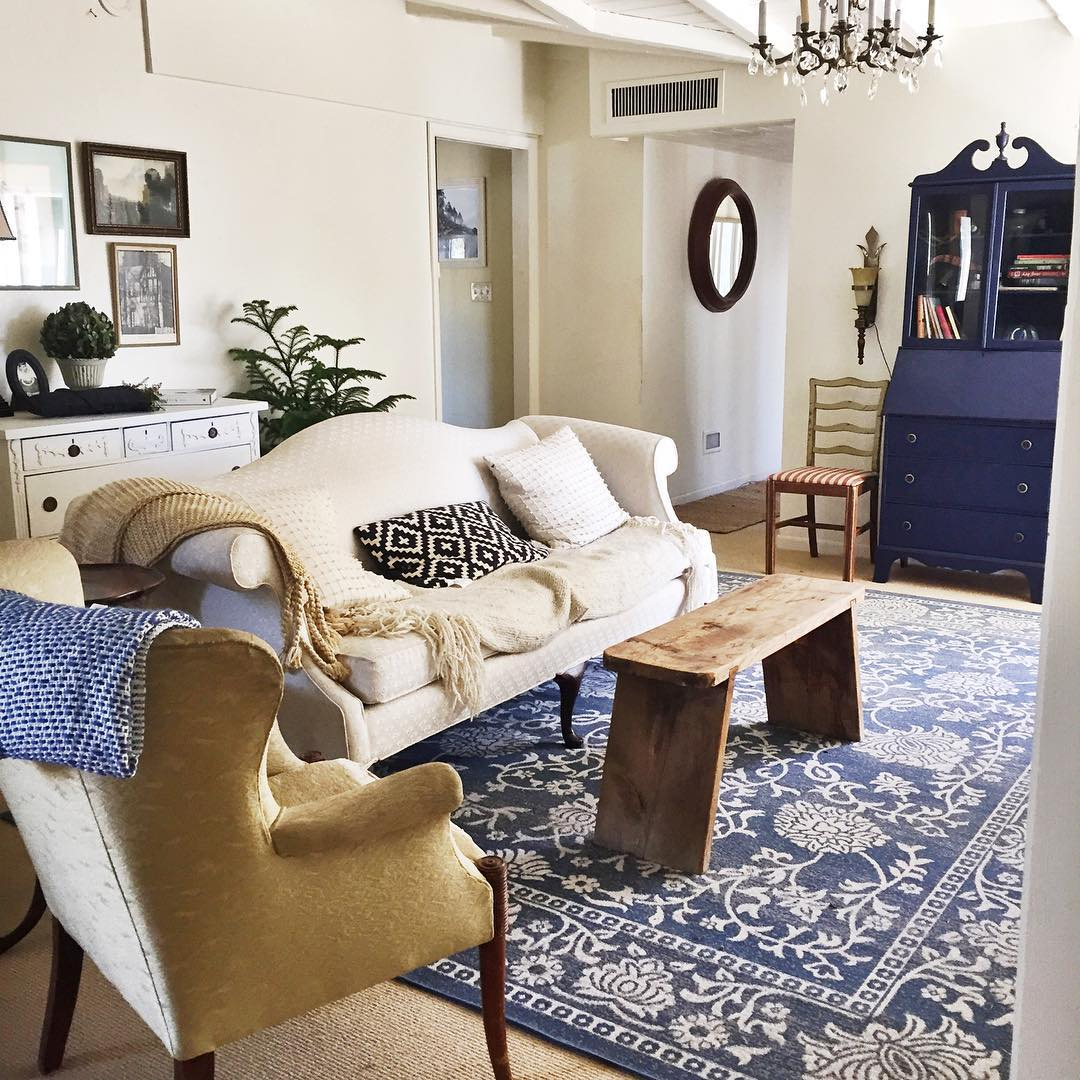 Pull Together A Room with a Statement Rug