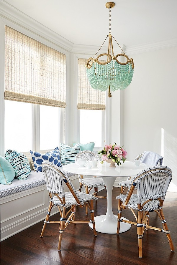 Cheery Breakfast Room - by Amie Corley Interiors