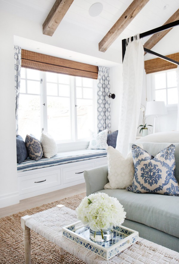 Coastal Style Blackband Design Master Bedroom