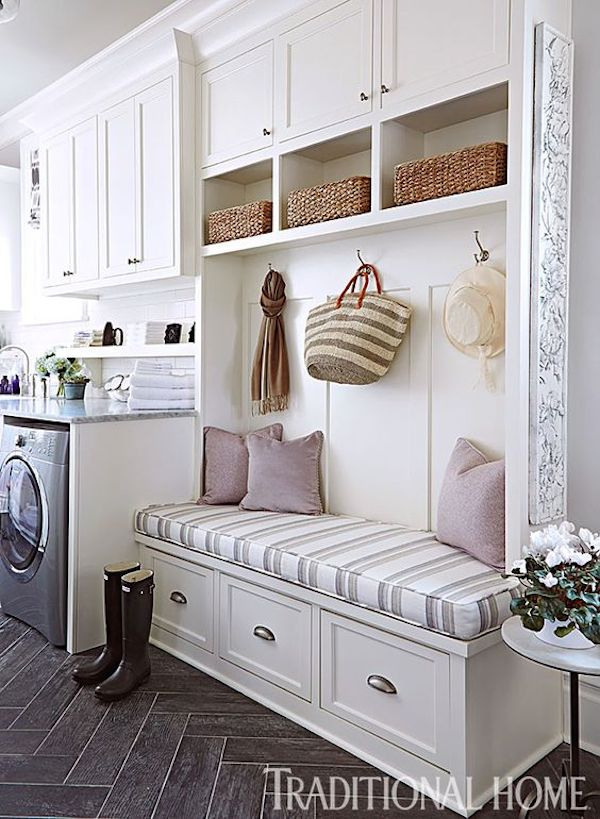 Mud Room Design Ideas: Vision For The Kitchen {A Mudroom Entrance}