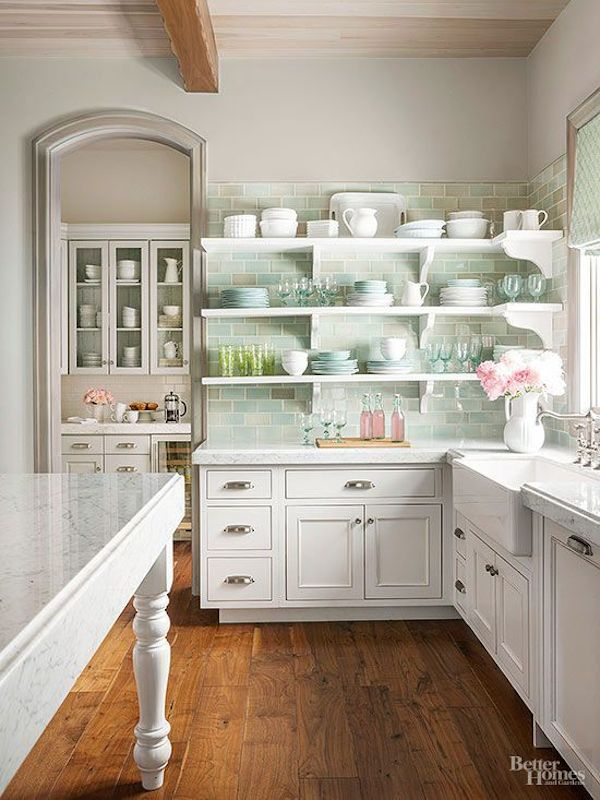 Pastel Kitchen Color Palette - BHG