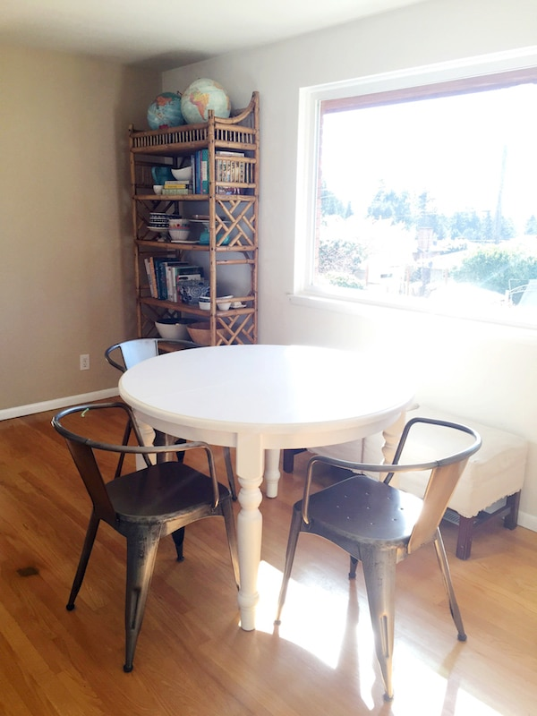 The Dining Room {Refining the Vision and Experimenting}