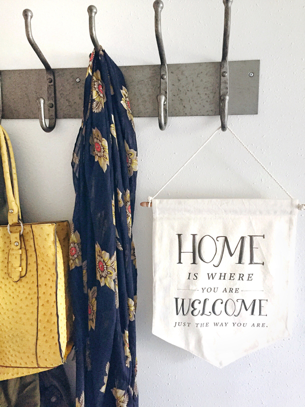 Hooks in the Entry {Love Where You Live!}