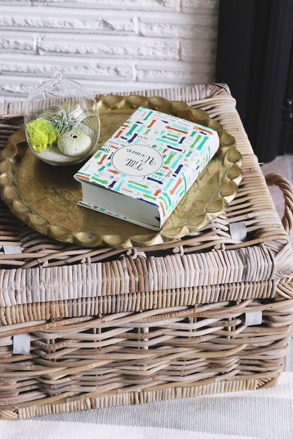 The Inspired Room Spring Refresh - Birch Lane Lidded Basket