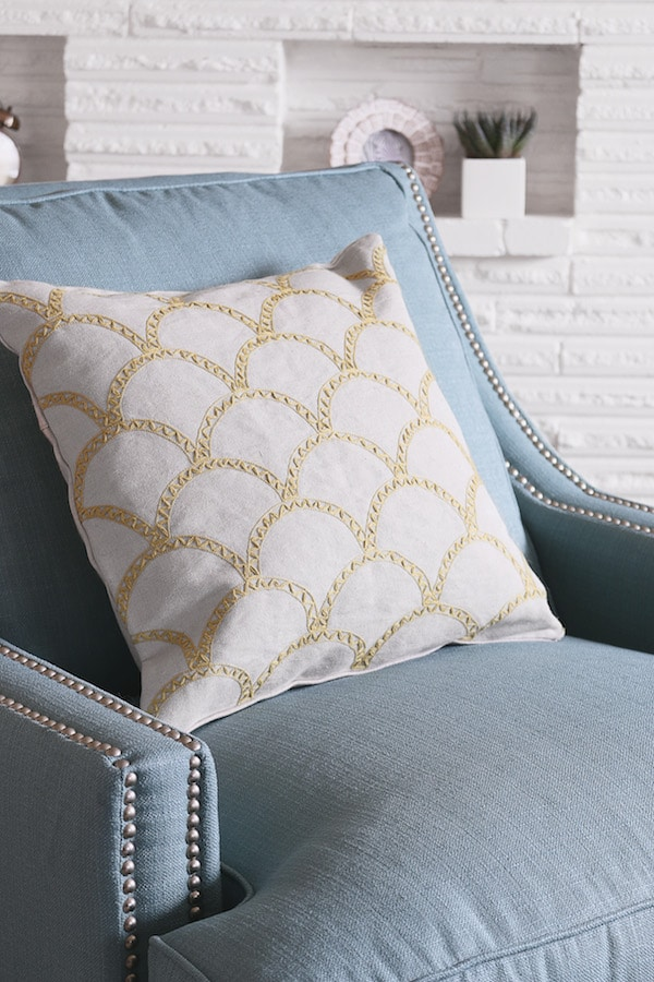 The Inspired Room Spring Refresh - Birch Lane Nailhead Larson Chair