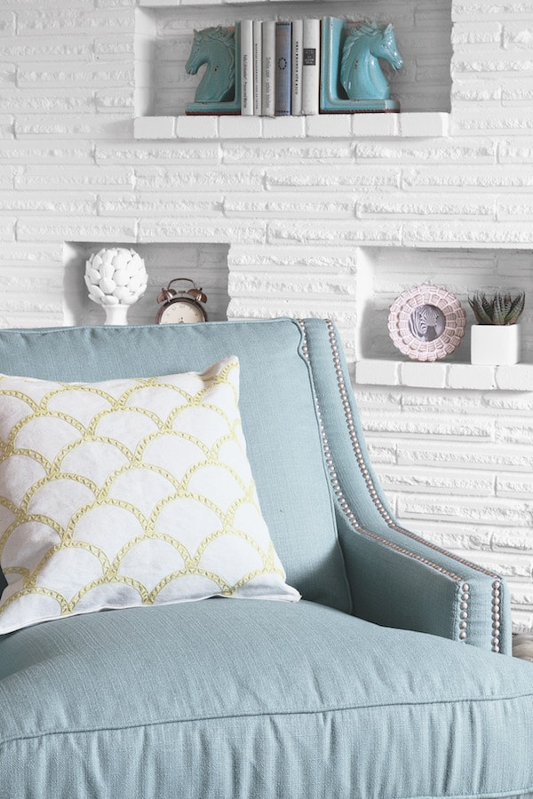 The Inspired Room Spring Refresh - Birch Lane Nailhead Trim Larson Chair