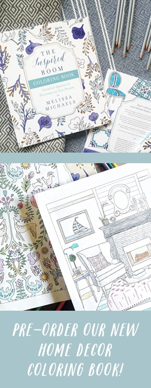 A New Home Decorating Coloring Book - The Inspired Room