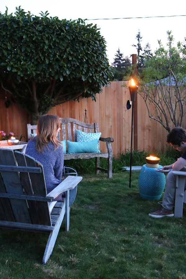 My Backyard {The Secret to Creating an Inviting Outdoor Space}
