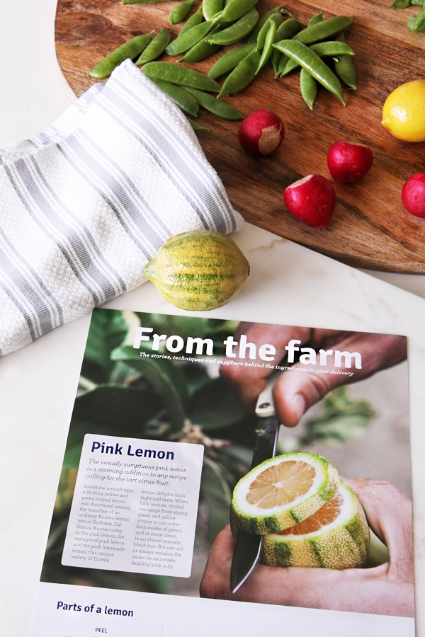 Blue Apron - by The Inspired Room