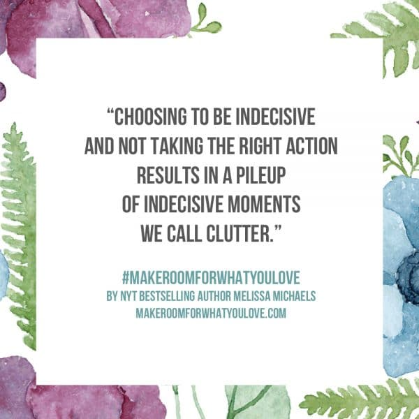 Choosing to be indecisive